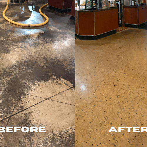 do's and don't's of polished concrete